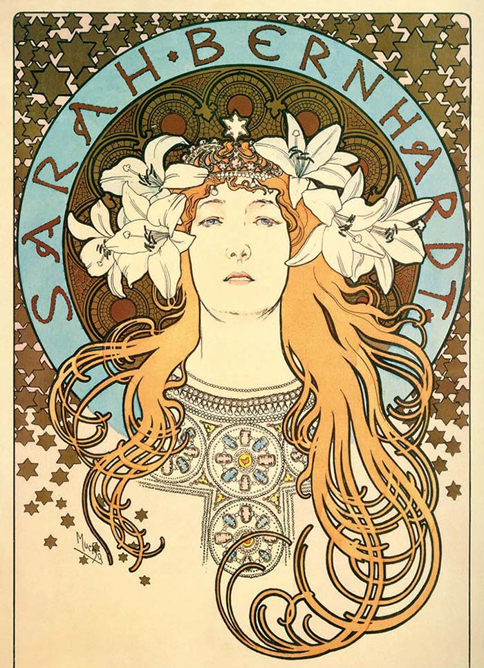 the french jewelry post - Mucha's Art Nouveau jewelry