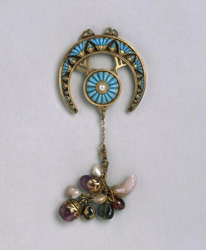 the french jewelry post - Les bijoux Art nouveau de Mucha
