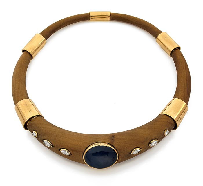 Precious wood The French Jewelry Post by Sandrine Merle
