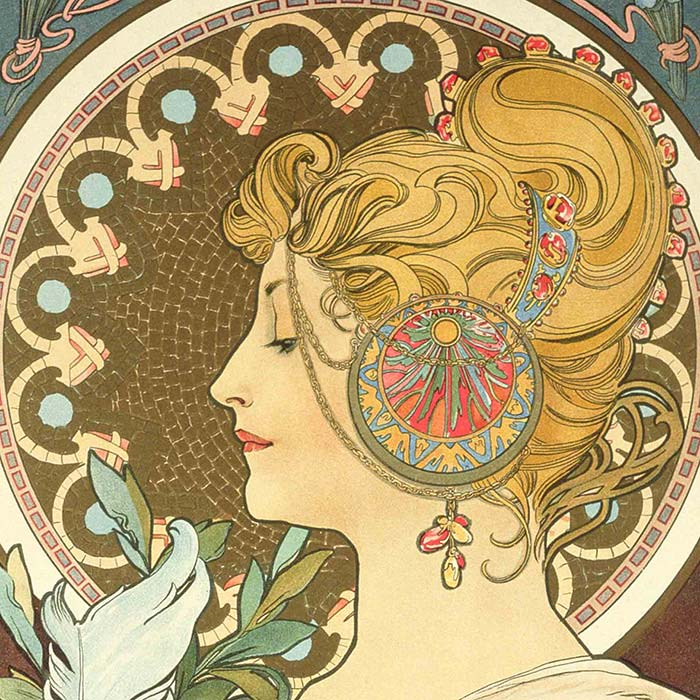 the french jewelry post - Les bijoux Art nouveau de Mucha