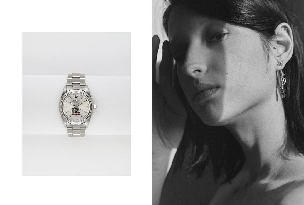Rolex vintage - Clémence Cahu, Lara Giliberto et Émeraude Nicolas