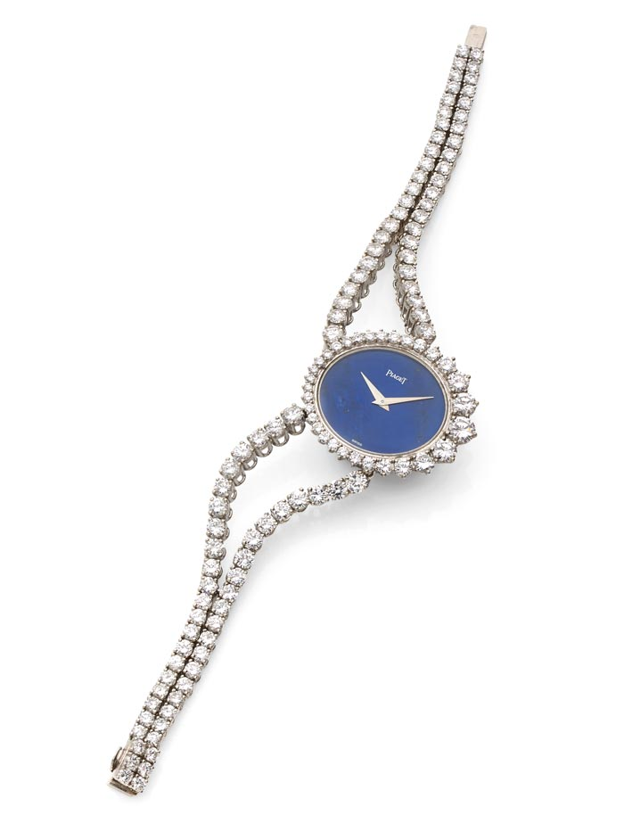 Piaget - Gold, lapis lazuli, diamonds - Estimated €8-12,000 - Ca 1973