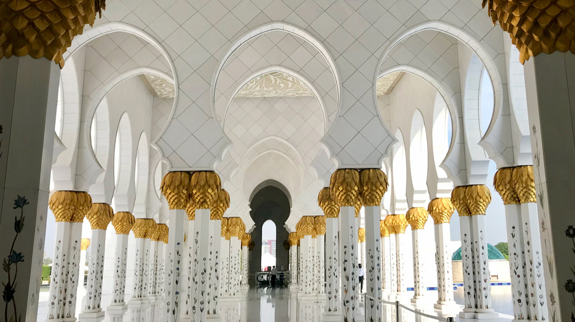 The Sheikh Zayed Mosque In Abu Dhabi The French Jewelry