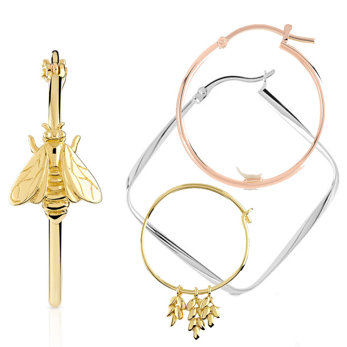 convient aux hommes/femmes le prix reste stable taille 7 maty-montage-creoles- The French Jewelry Post by Sandrine Merle