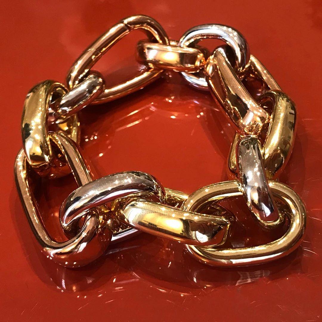 The new @pomellato bracelet in three golds